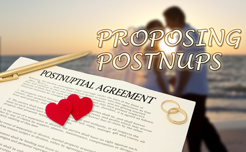 3 Reasons Why Postnuptial Agreements Are On The Rise
